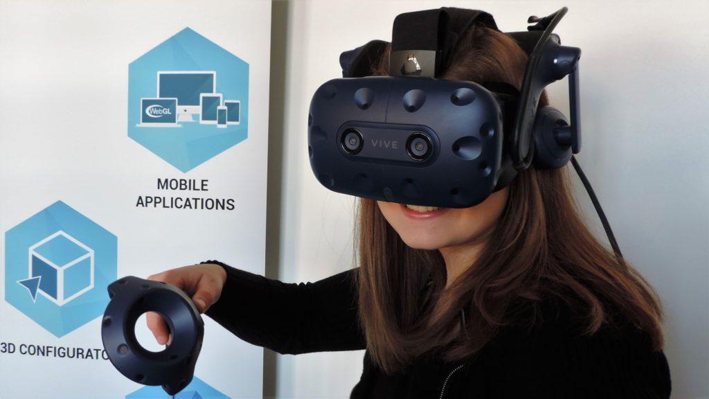 Application en réalité virtuelle